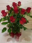 Rózsák vázában