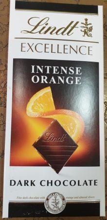 Lindt narancsos étcsoki 100 g.