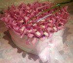 Orchideás virágbox több méretben  (Bp,.re és Pest megyébe rendelhető)