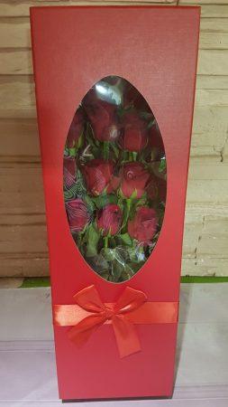 Rózsák díszdobozban