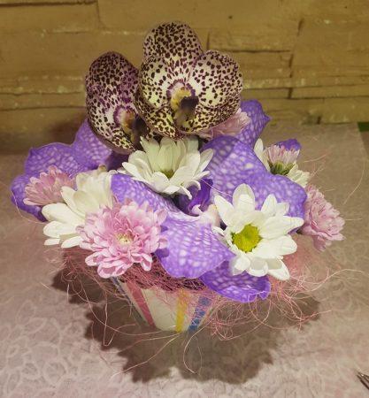 Virág muffin