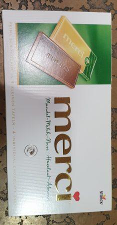Merci mogyorós táblás csoki 100 g.