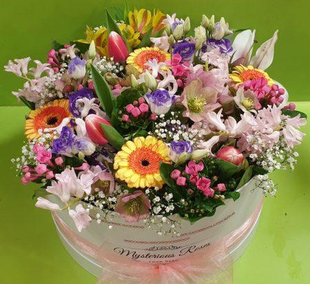 Ránk bízza box vegyes virágokból (S,M,L,XL méretben)