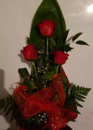 3 szál rózsa