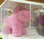 Unikornis habrózsából - rózsaszín
