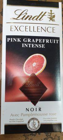 Lindt grapefruit ízű étcsoki 100 g.