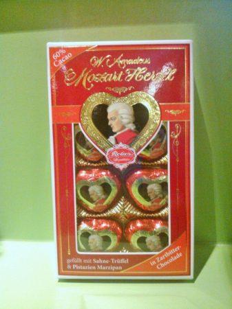 Mozart szivek (csak virág mellé rendelhető kiszállítással)