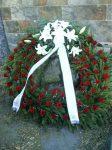 Álló alapú görög koszorú rózsa,liliom