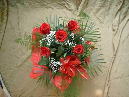 rózsa körcsokor