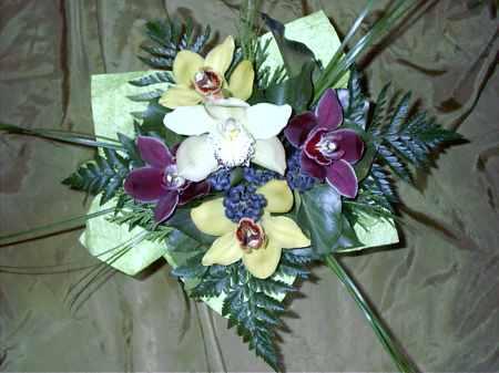 Orchidea körcsokor