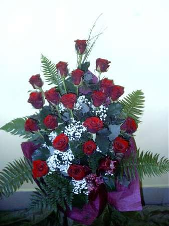 20 szálas rózsacsokor