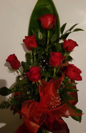 7 szál rózsa