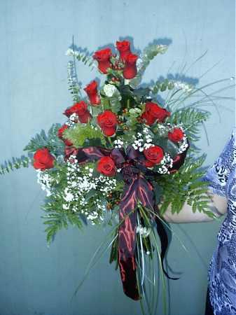 Rajongás rózsacsokor